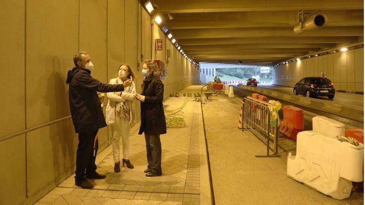 El túnel de la avenida del Planetario será accesible para el peatón antes de 2021