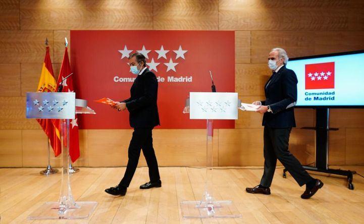 Las medidas restrictivas en Madrid entran en vigor a las 22 horas