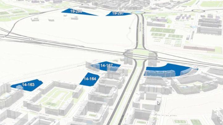 Un mapa interactivo en 3D permite a los ciudadanos aportar ideas para 'Madrid, Isla de Color'
