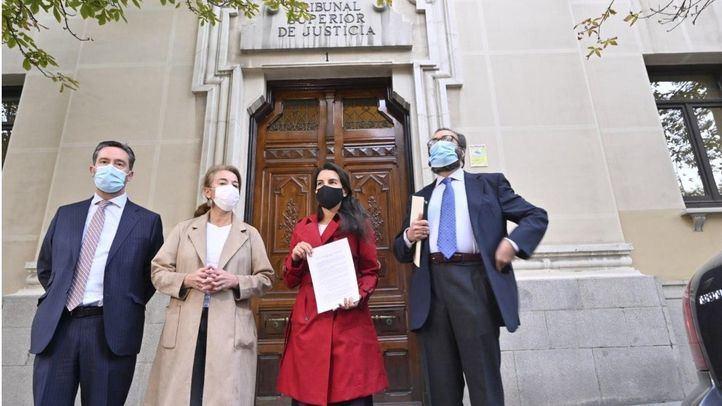 Rocio Monasterio presenta medidas cautelarísimas a la orden del Ministerio de Sanidad