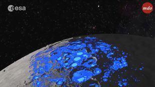 La radiación pone en peligro la colonización de la luna