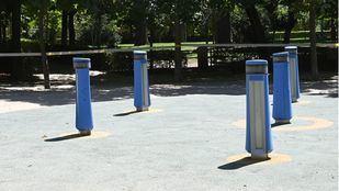 El Retiro y otros ocho parques mantendrán zonas balizadas por alerta naranja por viento