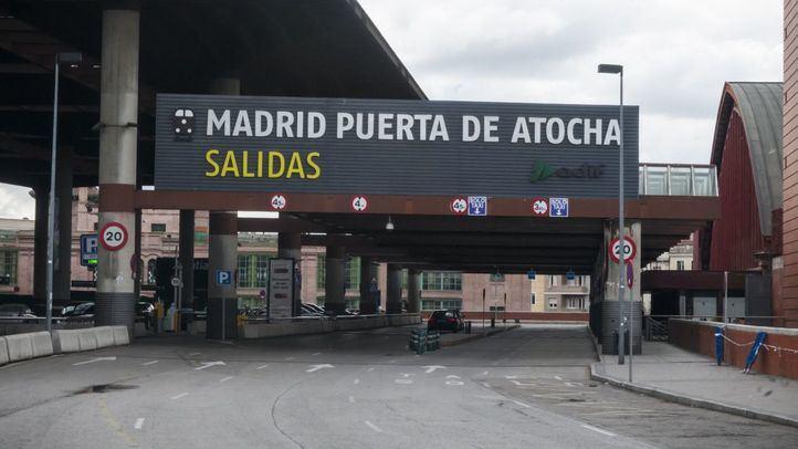 Puerta de Atocha y Chamartín registraron ayer el número más bajo de viajeros desde el estado de alarma