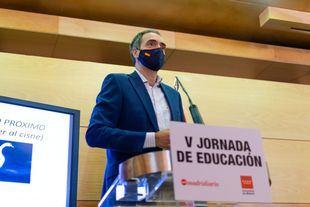 José Antonio Poveda, secretario regional de FERE-CECA Madrid y Educación y Gestión de Madrid