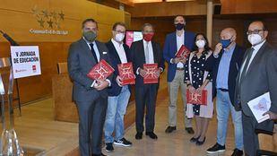 Algunos de los ponentes de la V Jornada de Educación de Madridiario.