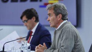 Fernando Simón ve un 'ascenso relativo' en la evolución de la pandemia en Madrid