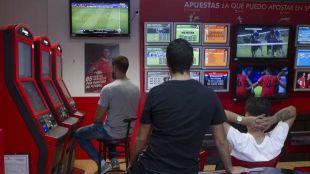 Los Madrileños cada vez más seguidores de las apuestas deportivas