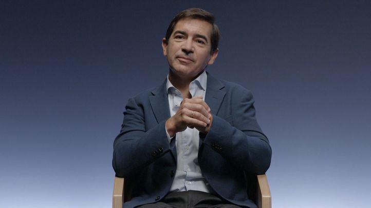 Carlos Torres Vila, presidente de BBVA, participa en 'Aprendemos Juntos'.