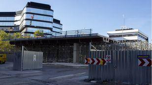 Obras en el Puente de Joaquín Costa.