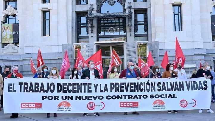 Sindicatos alertan del aumento de la precariedad entre los trabajadores más vulnerables