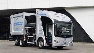 Vehículo recolector compactador eléctrico ieUrban