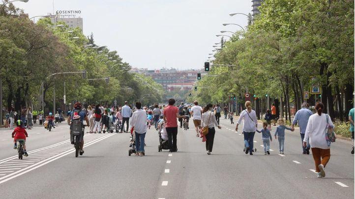 Madrid retomará la peatonalización de calles este fin de semana