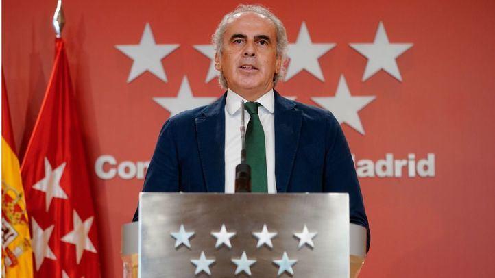 Enrique Ruiz Escudero, consejero de Sanidad