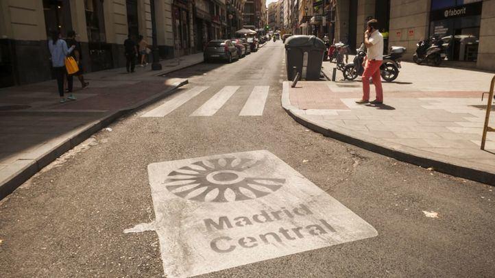 Los vehículos con etiqueta C de alta ocupación no podrán atravesar el centro de Madrid