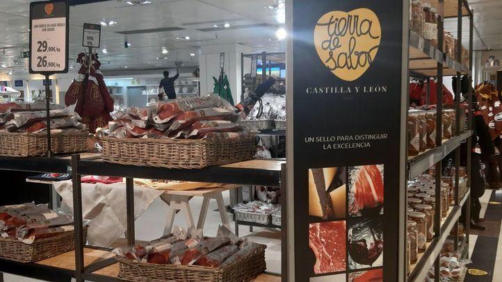 El Corte Inglés promueve los productos 'Tierra de Sabor' junto a Castilla y León