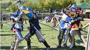Una batalla de la Edad Media en el siglo XXI: Manzanares el Real acoge el Combate Medieval Battles