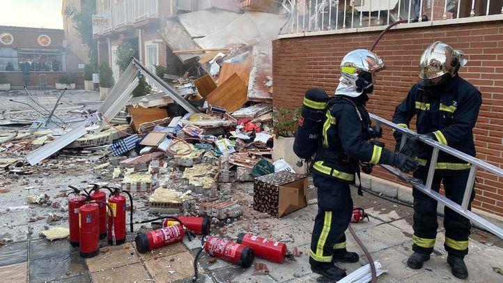 Un chalet de San Martín de la Vega registra una fuerte explosión sin víctimas