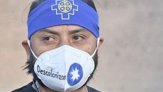 Colectivos migrantes contrarios al Día de la Hispanidad 'toman' Colón