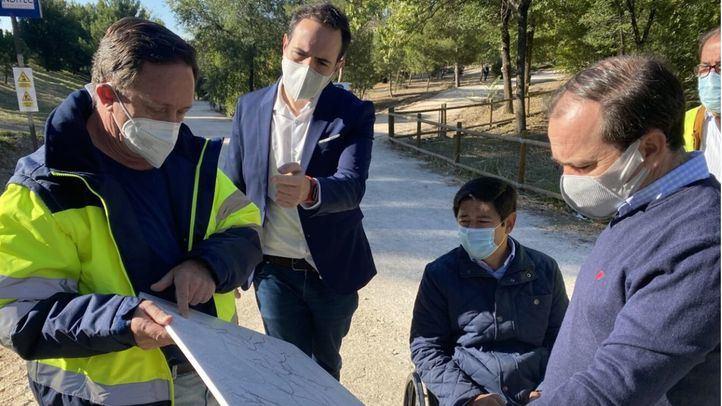La remodelación del parque forestal de Entrevías incluirá mejora de caminos y más arbolado