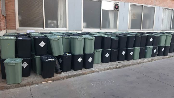 Acumulación de  residuos peligrosos en el Hospital Universitario 12 de Octubre