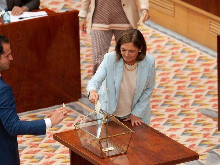 El PP propondrá a Paloma Adrados como senadora por designación autonómica