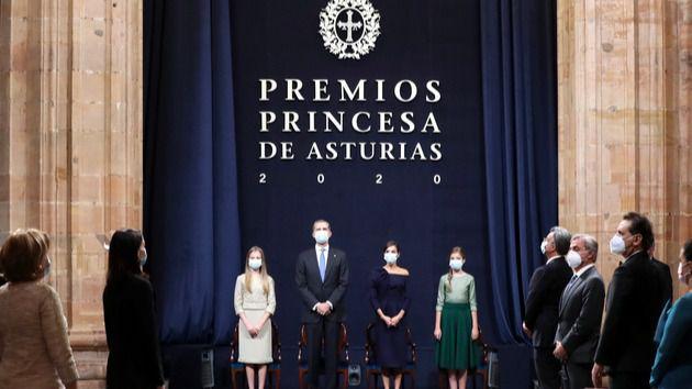 La entrega de los Premios Princesa de Asturias, marcada por la pandemia