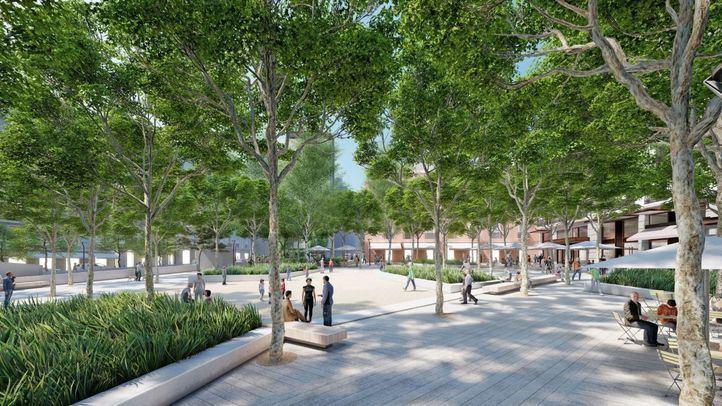 Inversión privada de 12 millones para reformar la Plaza del Carmen y su parking subterráneo