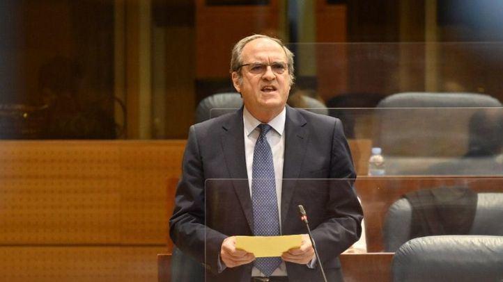 Gabilondo acusa al Gobierno regional de