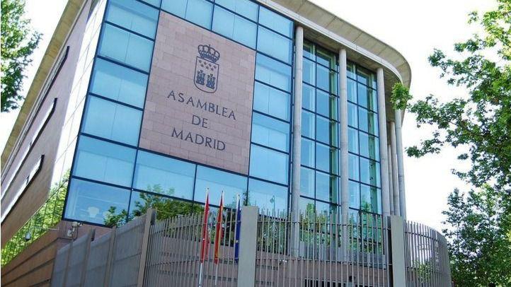 Sede de la Asamblea de Madrid.