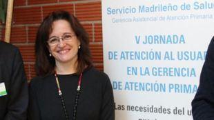 Marta Sánchez-Celaya en una jornada de Atención Primaria