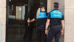Policía Local de Leganés.