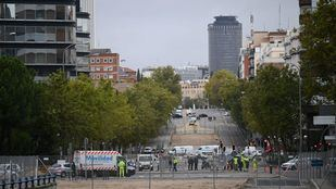 La zona del Puente de Joaquín Costa continúa su transformación