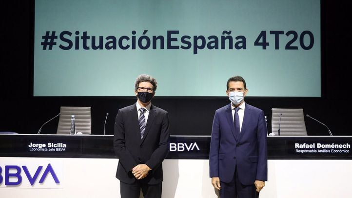 Jorge Sicilia y Rafael Doménech en la presentación del Informe Situación España.