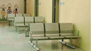 Saña de espera de un centro de salud.