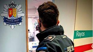 Agentes locales de Arroyomolinos salvan la vida de una bebé en una guardería
