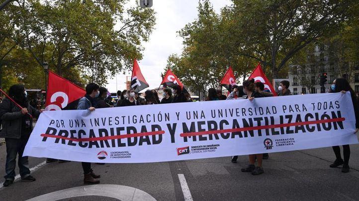 Universidades y centros de investigación, en huelga