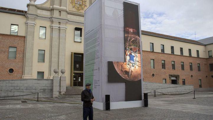Videoinstalación Reaction Madrid, en el Centro Conde Duque