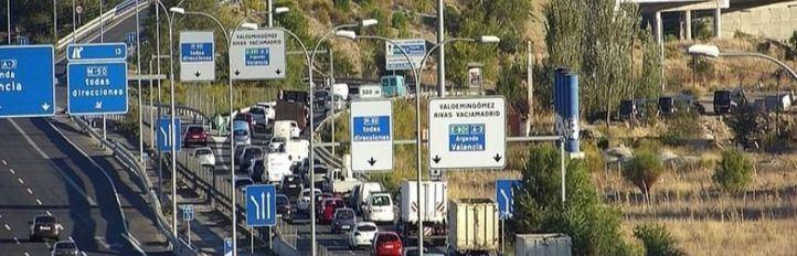 La Policía evitó este miércoles que los vecinos de la Cañada Real volviesen a cortar la A-3