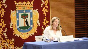 nmaculada Sanz, portavoz del Ayuntamiento y delegada de Seguridad y Emergencias.