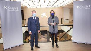 CaixaBank galardona a la Fundación Barceló y a la Fundación Prodis en los Premios Solidarios de banca privada