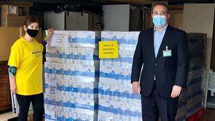 Mercadona dona al Banco de Alimentos Infantiles 5.400 litros de leche