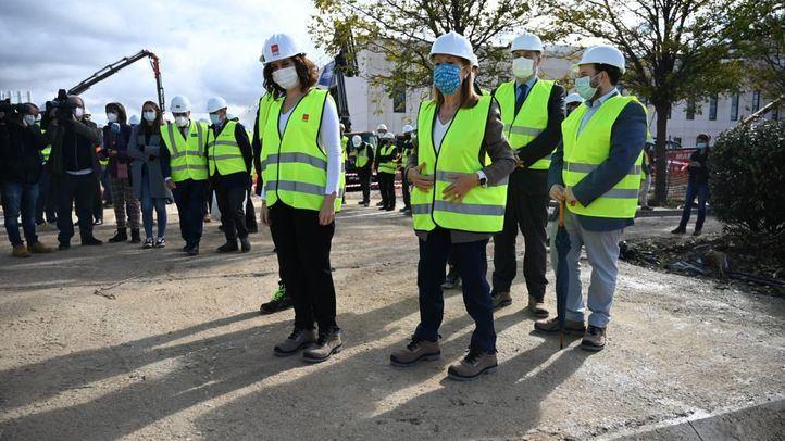 El Hospital de Emergencias de Valdebebas alcanza el 90% de su construcción