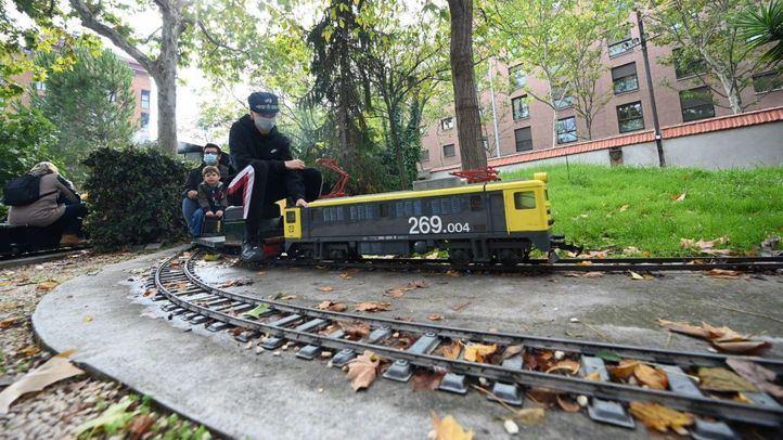 El museo del Ferrocarril celebra el Día del Tren