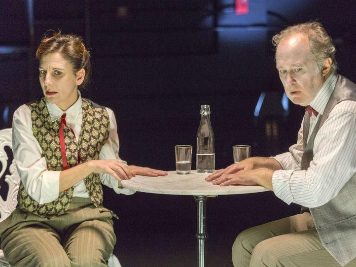 Malena Alterio y Luis Bermejo hablan en La Abadía