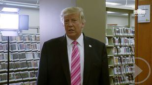 Trump vota en persona y por anticipado en Florida