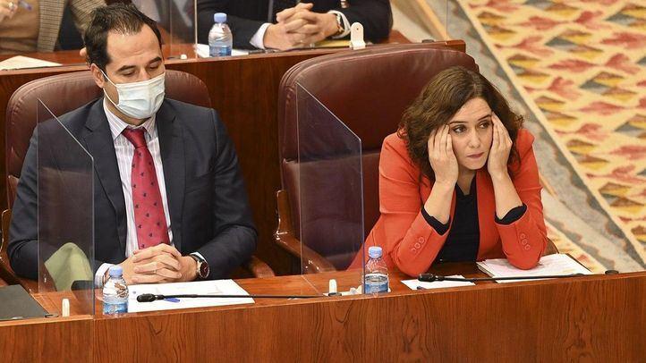 Aguado reconoce que si el fuera presidente de Madrid ya hubiera pedido el estado de alarma