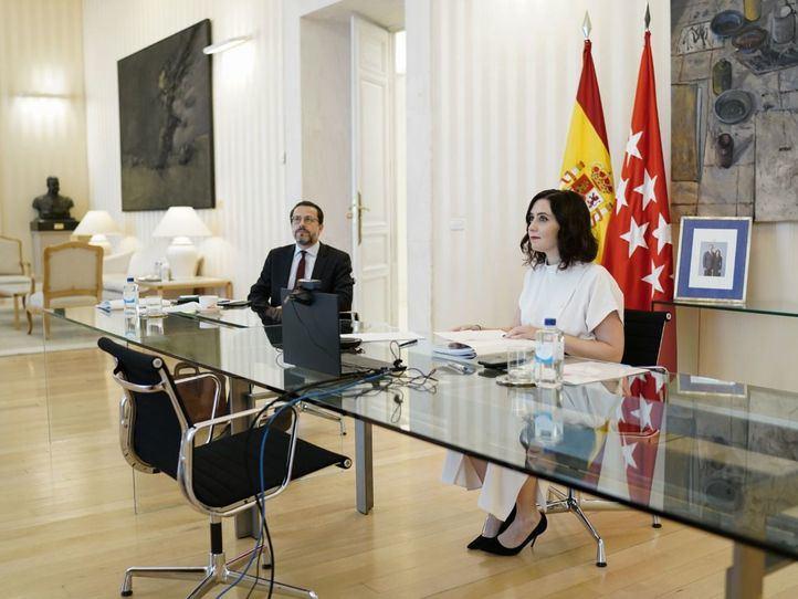 Isabel Díaz Ayuso  en la Conferencia de presidentes de Comunidades Autonómas