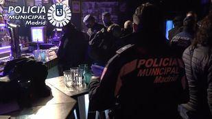 Fiesta ilegal en Centro