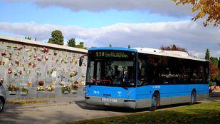 Refuerzo de los autobuses de la EMT para ir a los cementerios.
