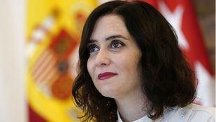 Isabel Díaz Ayuso en la Conferencia de presidentes de Comunidades Autónomas